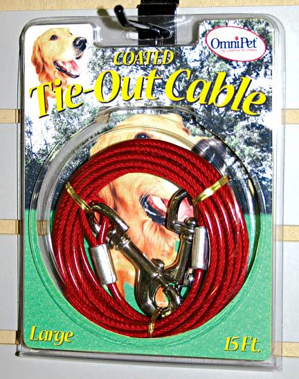 Heavy Duty Tie-Out Cables