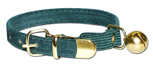 Dog Collar Blue And Green