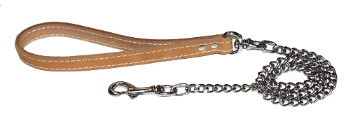 Leather Chain Lead