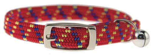 Cat Kwik Klip Collars with Bell - 3914-RD
