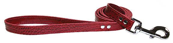 Croco - Faux Crocodile Leather Leads