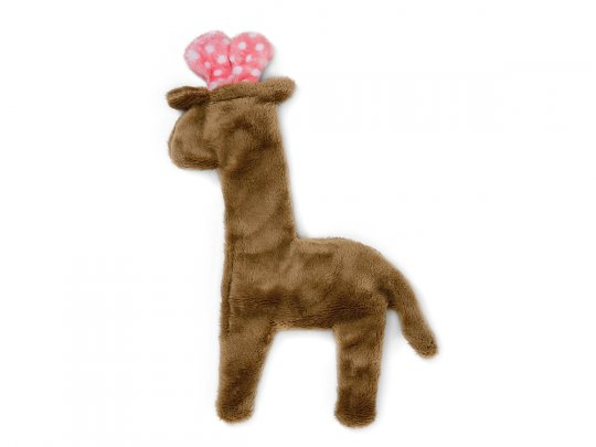 Floppy Giraffe Mini Dog Toy