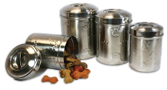Embossed Treat Canister