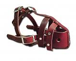 No-Bite Leather Muzzle