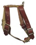 Quality 1-ply Latigo leather harness