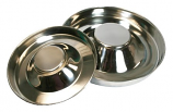 Stainless Steel Puppy Feeding Saucers