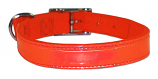 "1"" Regular Bravo Reflecto Neon Orange Dog Collar"